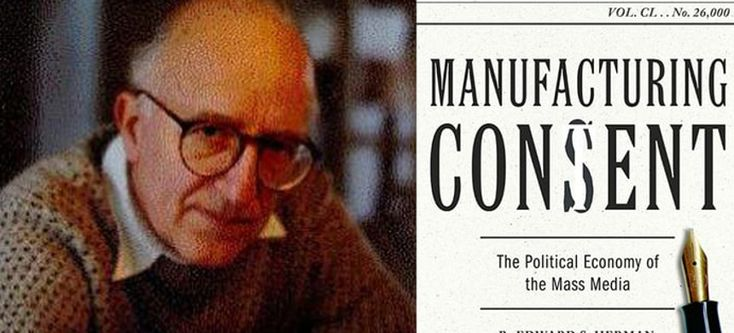 Taibbi writes: Edward Herman, the co-author (with Noam Chomsky) of Manufacturing Consent, has died. He was 92. His work has never been more relevant.