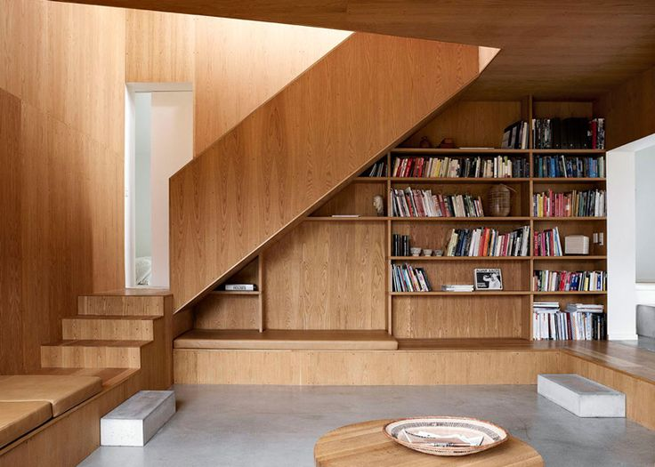 Architects Mette and Martin Weinberg have overhauled a 1940s cottage in Denmark to create a modern home for their family, complete with timb...