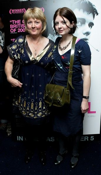 Deborah and Natalie Curtis at the Control premier. I bet they cried... A LOT!