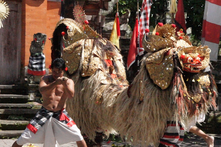 Barong & Rangda Dance - good against evil (picture by Peggy Mooney)