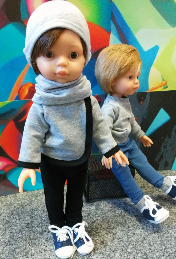 La Lalla boy dolls in sportswear with matched clothes for child. Custom dolls for your kids.  #kids #toys #doll