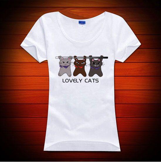 オリジナル猫キャラブランド「シュー太のくせに。」のオリジナルレディースTシャツです♪鉄棒にぶら下がって必至に意地を張り合うユニークな猫のデザインです。ご注文の...|ハンドメイド、手作り、手仕事品の通販・販売・購入ならCreema。