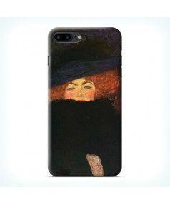 Чехол для Iphone 7 Plus Дама в шляпке и боа из перьев купить в интернет-магазине BeautyApple.ru.
