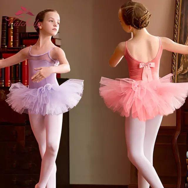 Kid Baby Girls Tutu Dancewear Skirt Ballet Dress Clothes Costume Dance Dancing