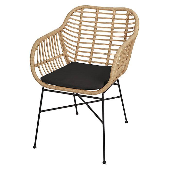 Gartensessel Nora Breite 42 Cm Polyrattan Gartensessel Gartenstuhl Polyrattan Bemalte Stuhle
