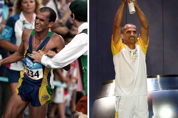 Here's The Inspiring Story Behind The Guy Who Lit The Rio Olympic Flame - BuzzFeed News