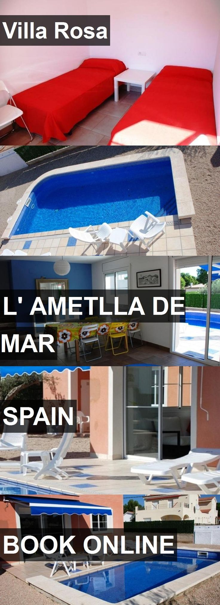 Hotel Villa Rosa in l' Ametlla de Mar, Spain. For more information, photos, reviews and best prices please follow the link. #Spain #l'AmetlladeMar #travel #vacation #hotel
