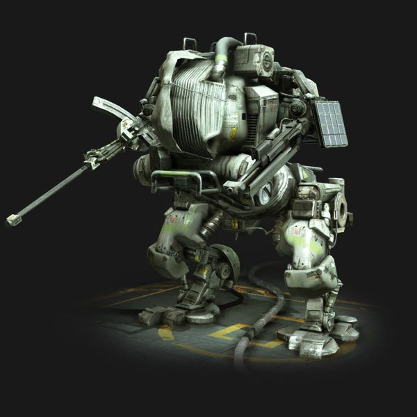 """@Hawken Brackett Pilot: """"the latest mech from Prosk is stomping off the production line"""""""