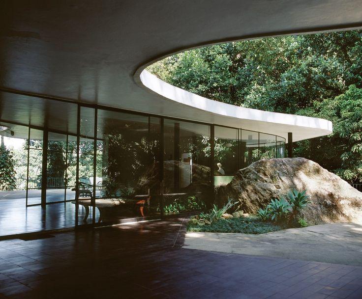Oscar Niemeyer, Canoas House, 1953.