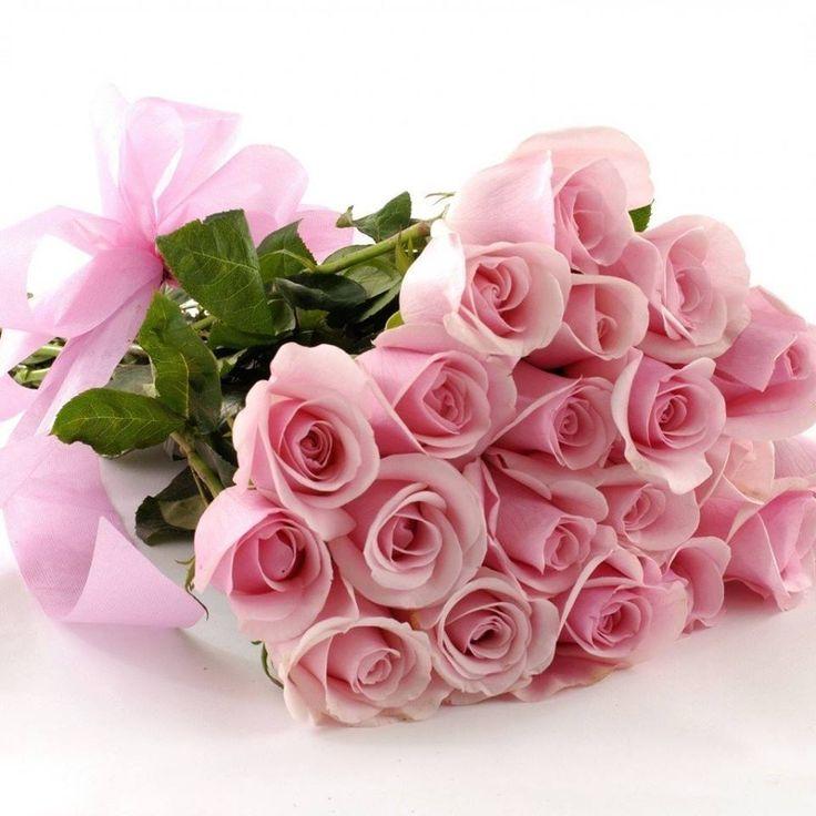 С днем рождения открытки розовые
