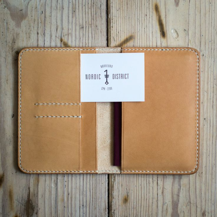 'Heimdallr' Passport Carrier - Natural via NORDIC DISTRICT. Click on the image to see more!