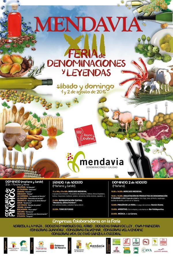Mendavia: Feria de las Denominaciones y Leyendas