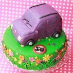 fiat panda taart met how to voor het snijden van de auto