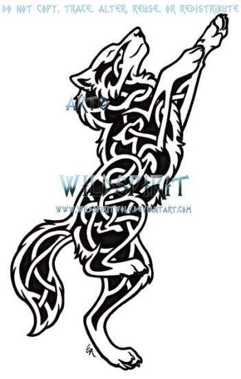 70+ Trendy Tattoo Wolf Color Deviantart