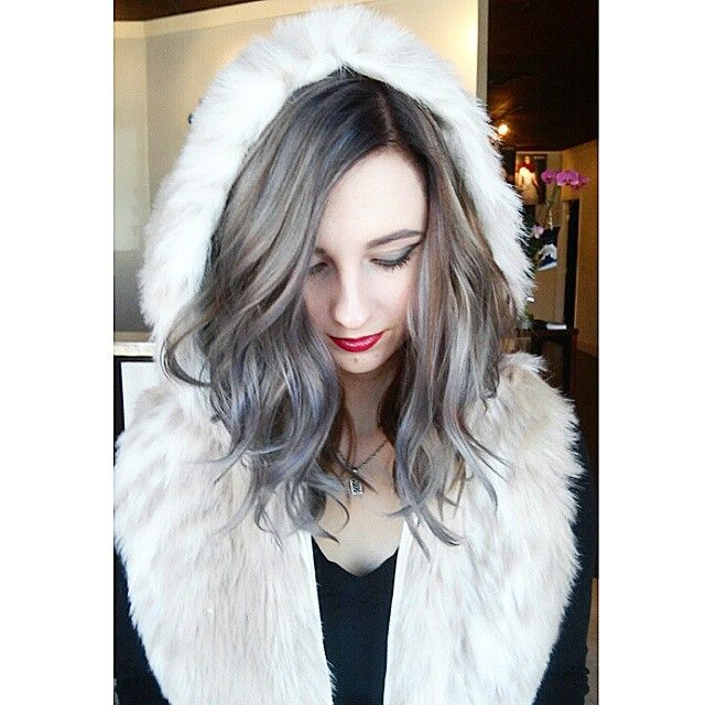 Be adventurous with your #AvedaColor. Go grey.