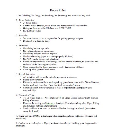 house rules chart template - 25 best ideas about house rules chart on pinterest