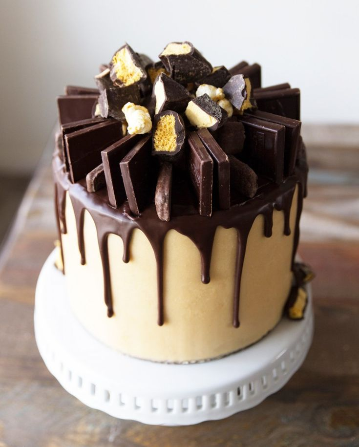 how to make caramel mud cake icing