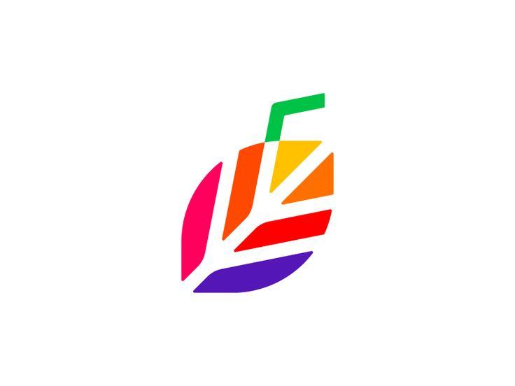 🍹+ 🍃  Naturo Juice Logo (WIP) by Vadim Carazan