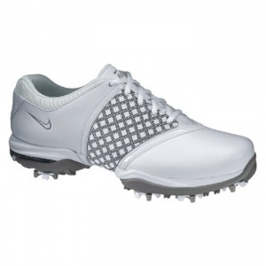 SALE - Nike Embellish Golf Cleats Womens White Leather - Was $129.99 - SAVE $50.00. BUY Now - ONLY $79.97