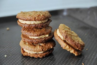 Oatmeal Peanut Butter Sandwich Cookies | Desserts and Sweets | Pinter ...