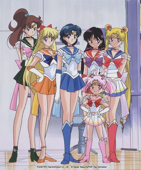 Super Inner Senshi in ep 151