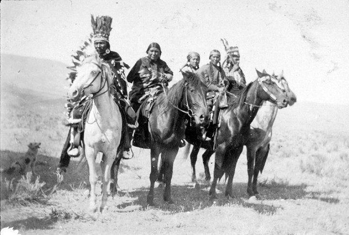 Nez Perce group – 1903