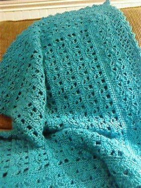 Simply Soft Baby Blanket free crochet pattern on Crochet Me at http://www.crochetme.com/media/p/115283.aspx