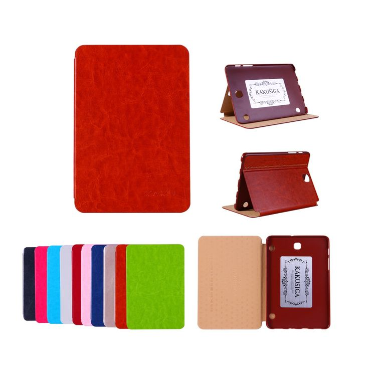 T715 Flip PU Leather Stand Case for Samsung Galaxy Tab S2 8 0 T710 T715 Luxury. Click visit to buy