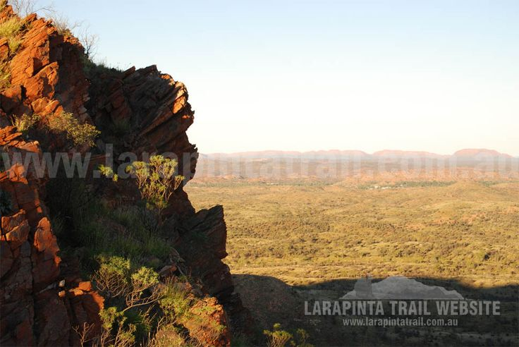 Nice views from Euro Ridge of Alice Springs in the distance. Section 1, Larapinta Trail. © Explorers Australia Pty Ltd 2013