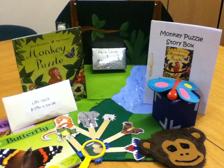 Story sacks - Monkey Puzzle