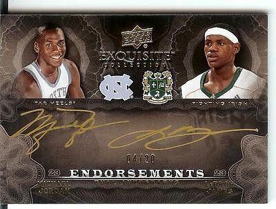 2011-12 Exquisite Dual Endorsements Autograph Michael Jordan Lebron James