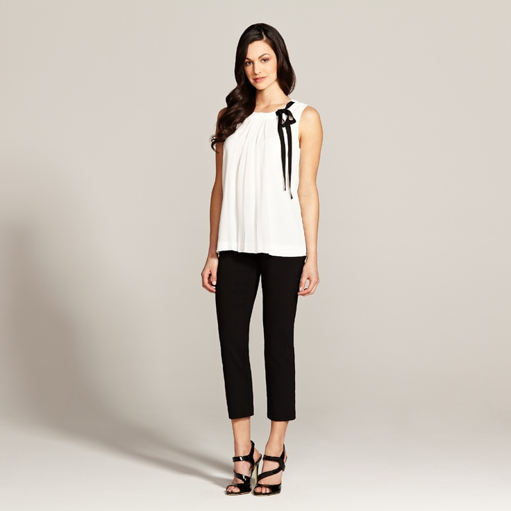White Blouse Summer 2012Blouses Summer, Black And White, Summer Work Outfits, Black White, Cute Outfit, Fashionista Style, Favorite Outfit, Girls Things, Beautiful Clothing