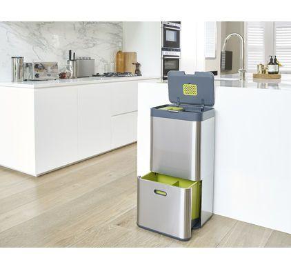 Intelligent Waste Totem 60 Liter Rvs - 9