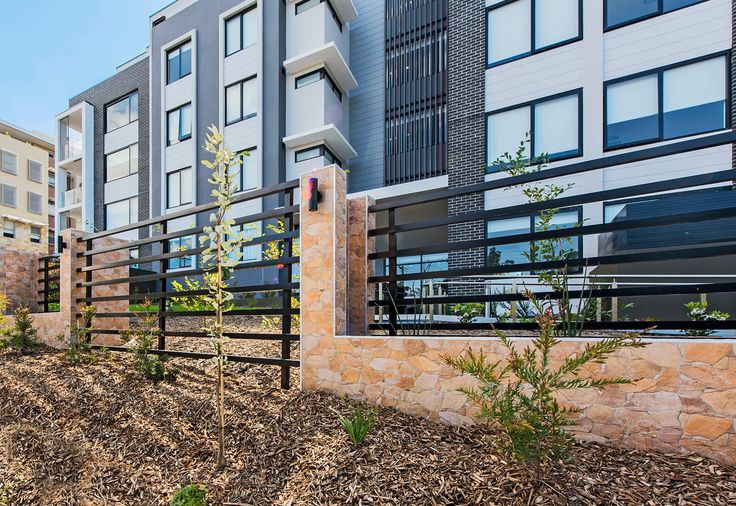The best thing about a Modular Wall is its ability to accomodate for any feature your heart desires- just like this amazing sandstone coverage!