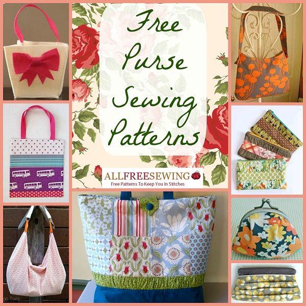 20 Free Purse Sewing Patterns