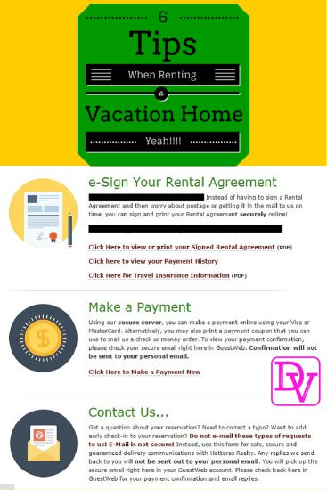 25+ beautiful HATTERAS REALTY ideas on Pinterest North carolina - reservation forms in pdf