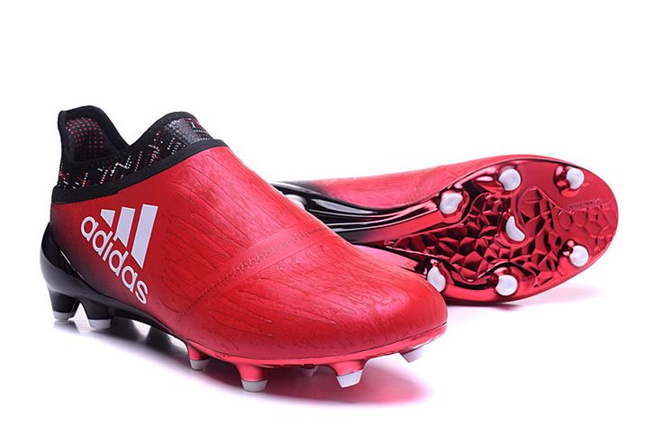 Red Limit Pack Adidas X 16+ PureChaos FG - Red /Core Black /White 2016-2017 Football Boots