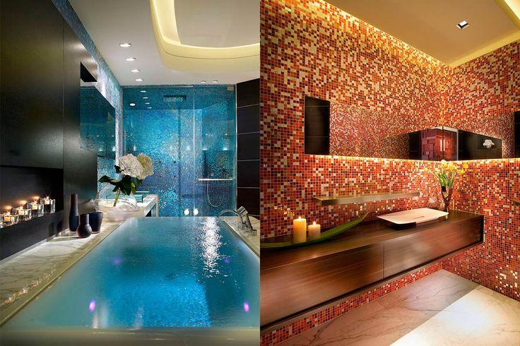 Дизайн ванной комнаты в Палаццо дель Маре от студии Pepe Calderin