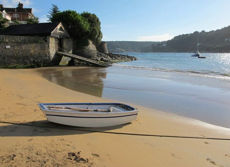 Small's Cove, East Portlemouth, Devon and the inspiration for Portlebay....... — at Small's Cove, East Portlemouth.