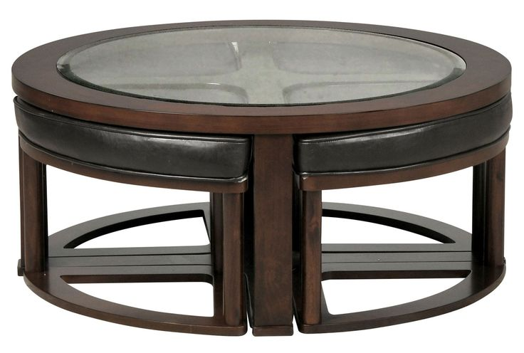 Marion round cocktail w 4 stools cocktails and stools for Round cocktail table with stools