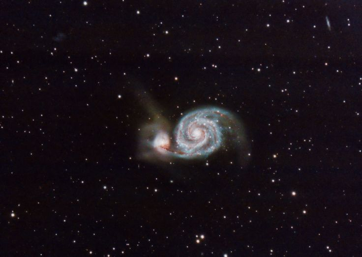The Whirlpool Galaxy from my backyard