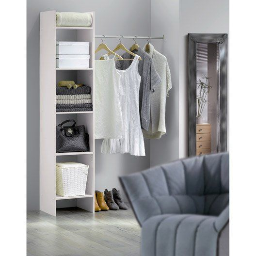 les 25 meilleures id es de la cat gorie dressing leroy merlin sur pinterest rangement pour. Black Bedroom Furniture Sets. Home Design Ideas