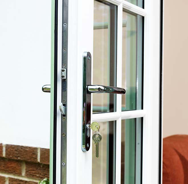 7 best french doors images on pinterest upvc french for Reclaimed upvc french doors