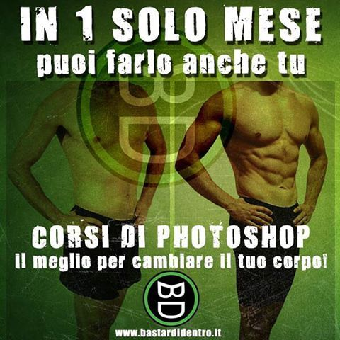 #photoshop lo #sport da #bastardidentro www.bastardidentro.it