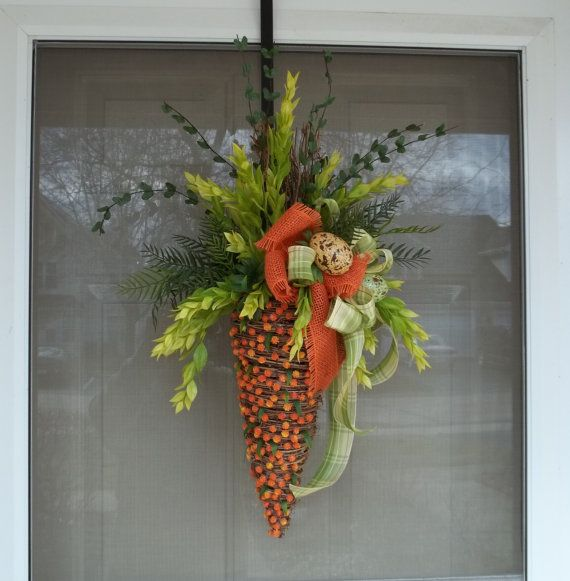 Hey, I found this really awesome Etsy listing at http://www.etsy.com/listing/94575048/door-wreath-easter-wreathwreathspring