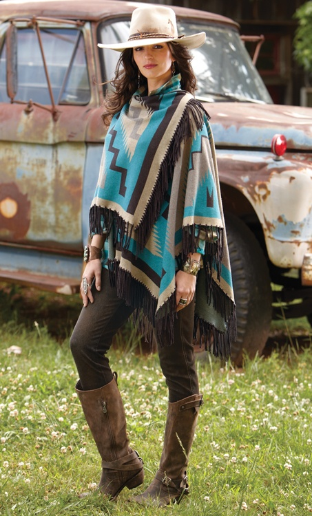 Charlie Red Horse Shawl
