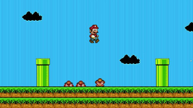 Essence.exe - real darkness corrupts this Mario Bros Game code! #gaming #indiegames #games #AlphaBetaGamer #pcgames #videogames #indiegame #pixelart #mario