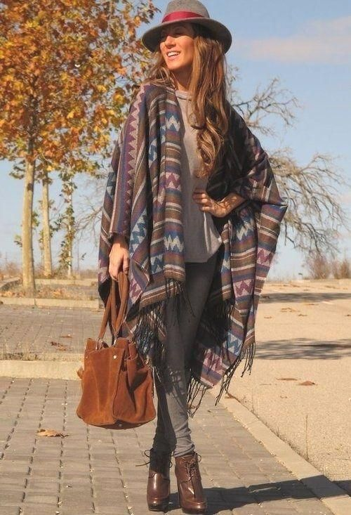 Blanket ponchos fashion trends – Just Trendy Girls
