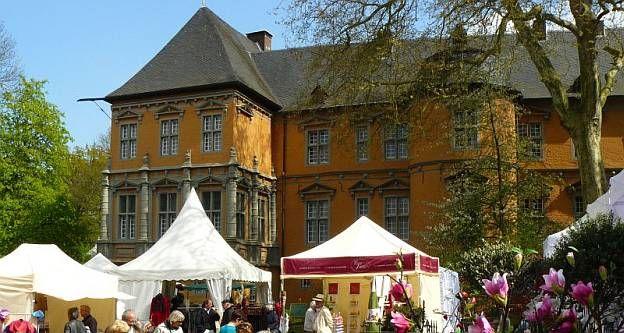 Gartenwelt Schloss Rheydt, D-41238 Mönchengladbach, Nordrhein-Westfalen/ NRW, 29.04.-01.05.2016