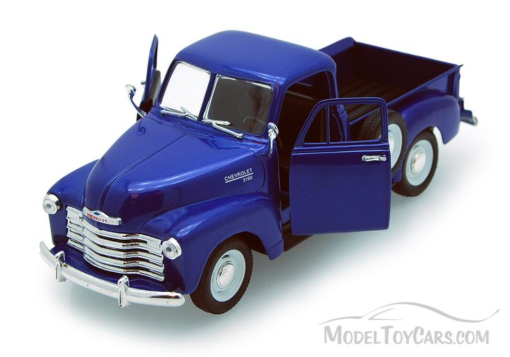 1953 Chevy 3100 Pickup Truck, Blue - Welly 22087 - need to buy this truck as replica of my Grandpa's Joe's Welding truck